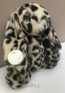 NEW Jellycat Special Edition Dixie Bashful Bunny Rabbit Soft Toy Leopard Print