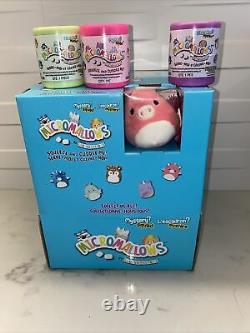 NEW Micromallows Mini Squishmallows Mystery Squad Sealed with Lot of 49