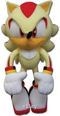 NEW Official Super Shadow 12 Stuffed Plush Toy GE-52631 Sonic the Hedgehog
