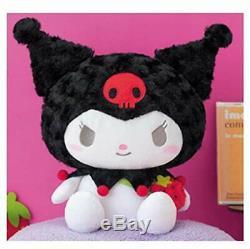 NEW SANRIO MY MELODY KUROMI Stuffed Plush animal Doll Toy 12.5in JAPAN FREE SHIP