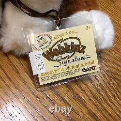 NWT Rare Webkinz Signature Australian Shepherd Plush & Unused Code