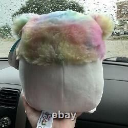 NWT Squishmallow Zaylee 8 Big Foot Yeti Girl Plush