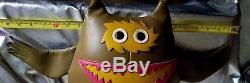 Naugahyde Large Nauga Monster, Uniroyal Advertising Stuffed Plush Animal