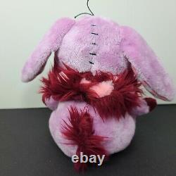 Neopets Cybunny Plush Stuffed Animal Plushie Soft Toy Figure Patchwork Stitched