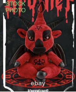 New Killstar Kreepture Dark Lord Blood Brother Limited Plush Numbered Dustbag