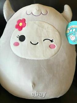 New SQUISHMALLOW Spring Yeti RIAH 16 Plush Pillow Washable RARE