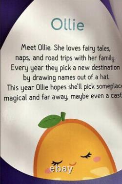Ollie The Orange Squishmallow Kellytoy 24 New With Tags XXLarge Plush Pillow