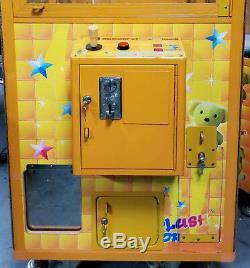 PLUSH CLAW Crane Stuffed Animal Prize Arcade Machine! Coins or Free Play Plush#1