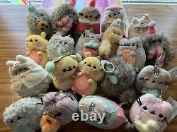 PUSHEEN BLINDBOXES LOT, KEYCHAINS, 20+ Plush With Boxes From 7 Diff Seasons