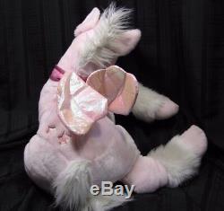 Pegasus Jumbo Large Pink Plush Stuffed Animal Wings 36 Commonwealth