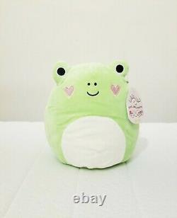 Philippe the 8 Valentine Frog Squishmallow Stuffed Animal Plush Toy RARE