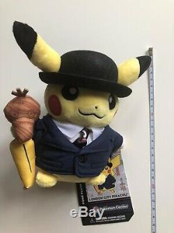 Pikachu plush London Pokémon Center limited Edition New