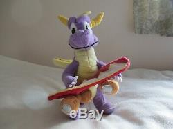 Play-by-Play 2001 PS1 Spyro 3 Year of the Dragon Soft Toy with Skateboard 11 RARE