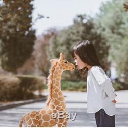 Plush Giraffe Kid Toy Giant Large Stuffed Animal Doll Xmas Gift 60/70/120CM UK