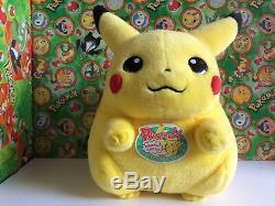 Pokemon Plush Pikachu 11 Tomy Japan UFO Big doll stuffed animal figure Lifesize