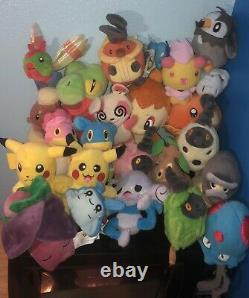 Pokemon plush toys lot