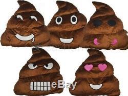 Poo Pillow Plush Soft Uk Emoji Emotion Stuffed Cushion Toy Xmas Birthday Gift