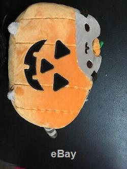 Pumpkin Pusheen Hey Chickadee Exclusive Halloween Plush Nwt Gund
