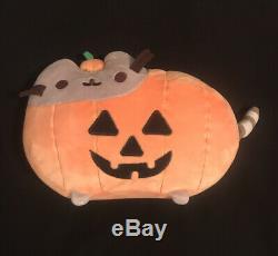 Pusheen Rare Hey Chickadee 2017 Exclusive 7 Jack-O-Lantern Halloween Plush