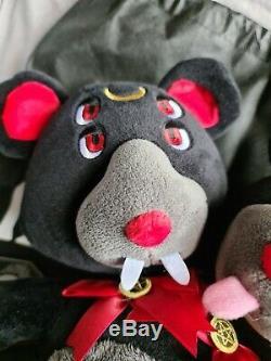RARE DISCONTINUED Killstar Kreeptures Duality Two Headed Bear Plush With Tags