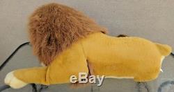 RARE Lion King Huge Plush 40 Giant Stuffed Animal Original Disney Simba Douglas