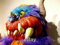 RARE My Pet Monster BEASTUR Plush 1986