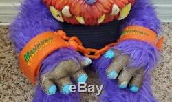 RARE My Pet Monster BEASTUR Plush Toy withOriginal Hand Cuffs