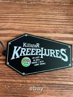 RARE SOLD OUT Killstar Kreepture Bubblegum Dark Lord Limited Edition #532/666