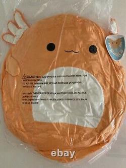 RARE Sealed Squishmallow 16 Plush Orange Axolotl Nico Official Kellytoy