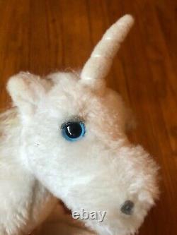 RARE VINTAGE The Last Unicorn Movie Plush 1980 ITC Films Fantasy Peter Beagle