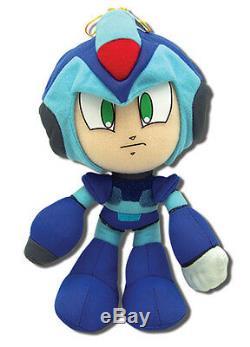 REAL Authentic Mega Man X Stuffed Toy Doll Mega Man X4 (GE-52526) 9 Plush