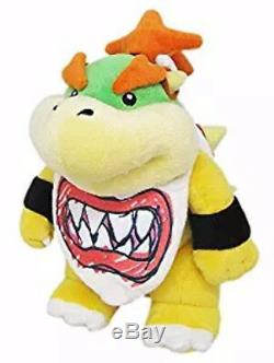 REAL Bowser Jr. Stuffed Plush Doll 1424 Super Mario Bros All Star Little Buddy