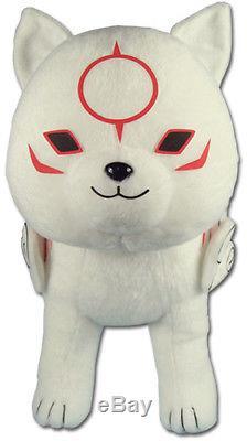 REAL Great Eastern GE-52612 Okami-Den 13 Standing Chibiterasu Stuffed Plush