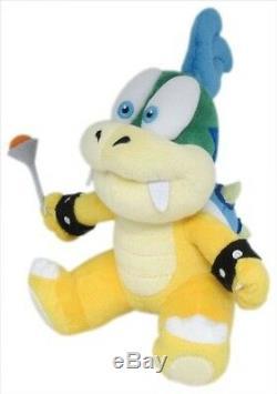 REAL Super Mario Bros 7 Larry Koopa Stuffed Plush Doll Toy 1343 Little Buddy