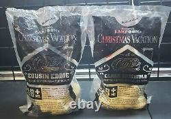 Raising Canes 2014 Christmas Vacation Dog Plush Clark Griswold, Cousin Eddie NIP
