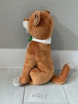 Rare 15 Disney Store Aristocats Thomas O'Malley Plush Cat Stuffed Animal Toy