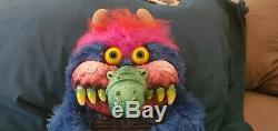 Rare 1986 Amtoy Hard Face 16 MY PET MONSTER Plush UK Exclusive