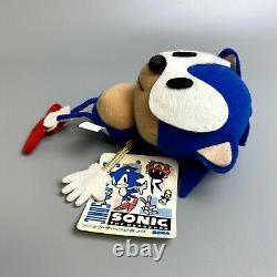 Rare 1991 Sonic the Hedgehog Early model Plush doll 7 SEGA limited Stuffed toy