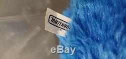 Rare 1992 Matchbox Hard Face 16 MY PET MONSTER Plush UK Exclusive Blue Nose