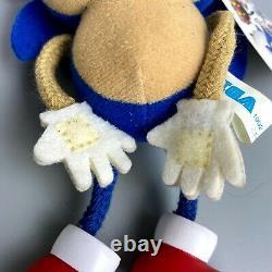 Rare 1992 Sonic the Hedgehog Early model Plush doll 7 SEGA limited Stuffed toy