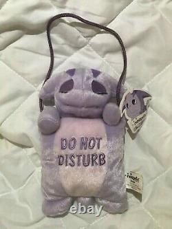 Rare Neopets Door Hanger Plush Toy with Tag 2003 Purple Poogle Limited Too