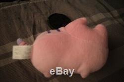 Rare Pregund Discontinued Hey Chickadee Small Pink Plush