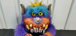 Rare Vintage 1986 My Pet Monster Beastur Plush Stuffed Animal AmToy Original