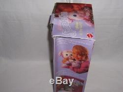 Rare Vintage 1989 PJ Sparkles Plush Puppy Dog Sparklins Glow in the Dark + BOX
