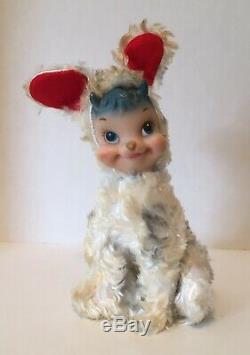 Rare Vintage RUSHTON STAR CREATION Rubber Face Billy Butts Goat Lamb Plush Toy