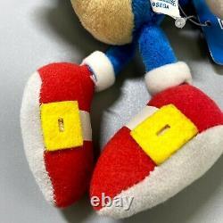 Rare2007 SONIC sanei S Plush 8 SEGA Sonic the Hedgehog limited Stuffed toy