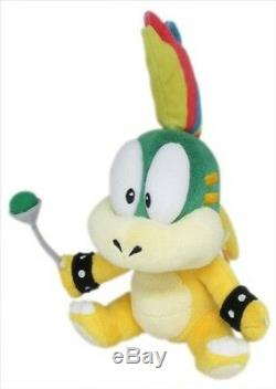 Real Super Mario 1340 8 Lemmy Koopa Stuffed Plush Doll Toy From Little Buddy