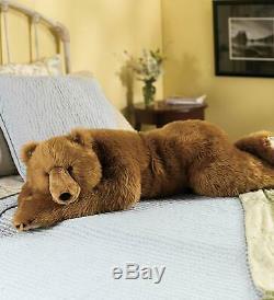 Realistic Large Panda Bear Stuffed Toy Body Pillow Weighted Animal Plush Teddy