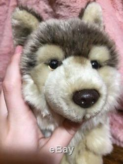 Retired And Rare Webkinz Signature Timber Wolf No Code Timberwolf Plush No Tags