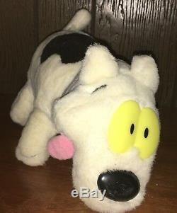 Rocko's Modern Life Spunky Dog Plush Vintage Nickelodeon Rare 1990's